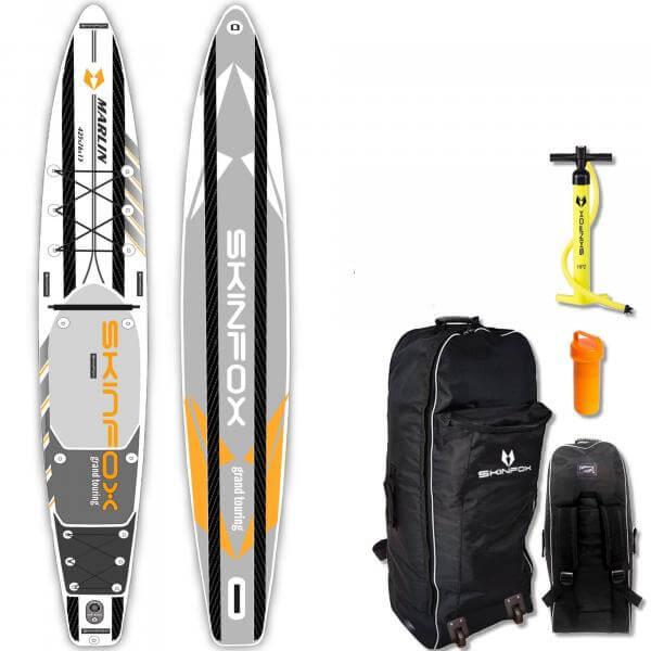 Skinfox Marlin Grand Touring ALU-SET (420x76x15) 4-TECH L-CORE SUP Paddelboard