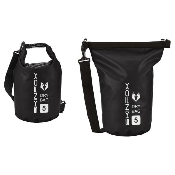 SKINFOX DryBag wasserdichte SUP Tasche in SCHWARZ